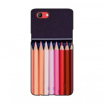 Color Pencils Printed Oppo Mobile Case