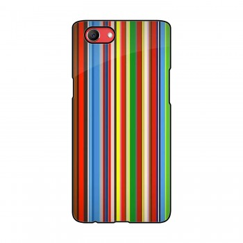Lines Pattern Printed Oppo Mobile Case
