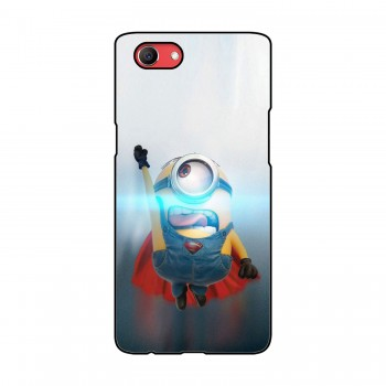 Flying Minion Printed Oppo Mobile Case