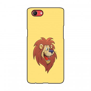 Cartoon Lion Printed Oppo Mobile Case