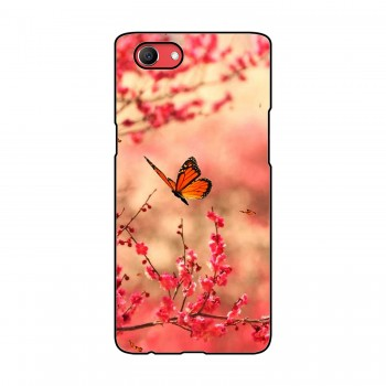 Butterfly Printed Oppo Mobile Case