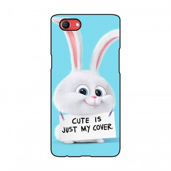Cute Rabbit Printed Oppo Mobile Case