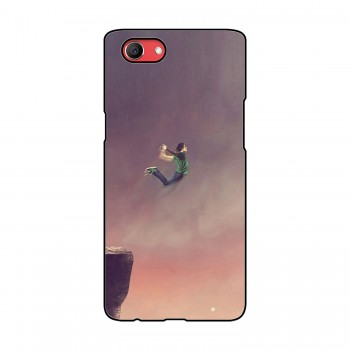 Boy Jumping Printed Oppo Mobile Case