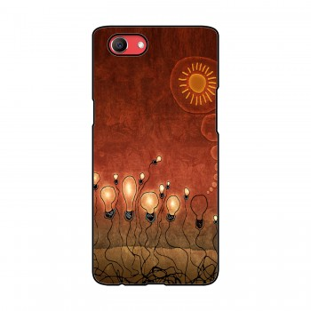 Glowing Bulbs Printed Oppo Mobile Case