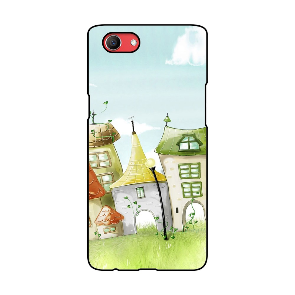 Animated Homes Printed Oppo Mobile Case