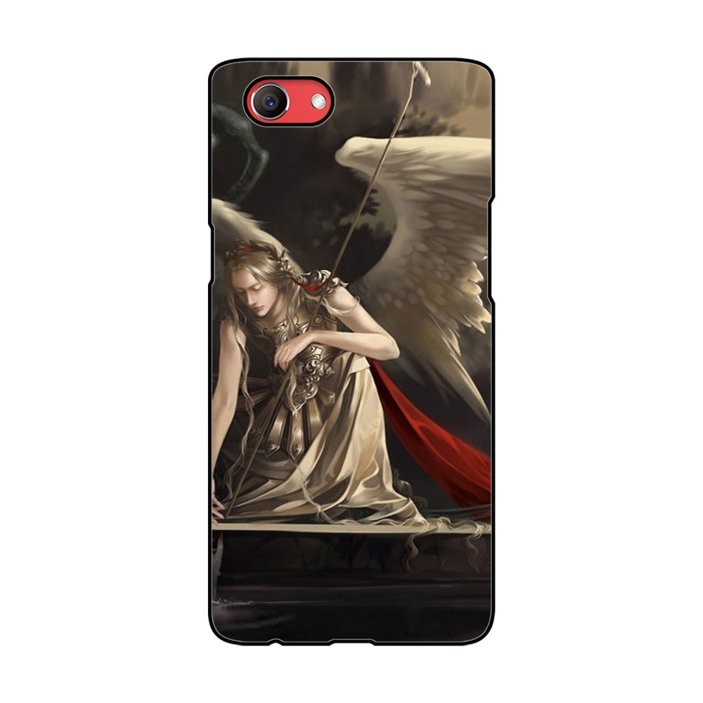 Angel Printed Oppo Mobile Case