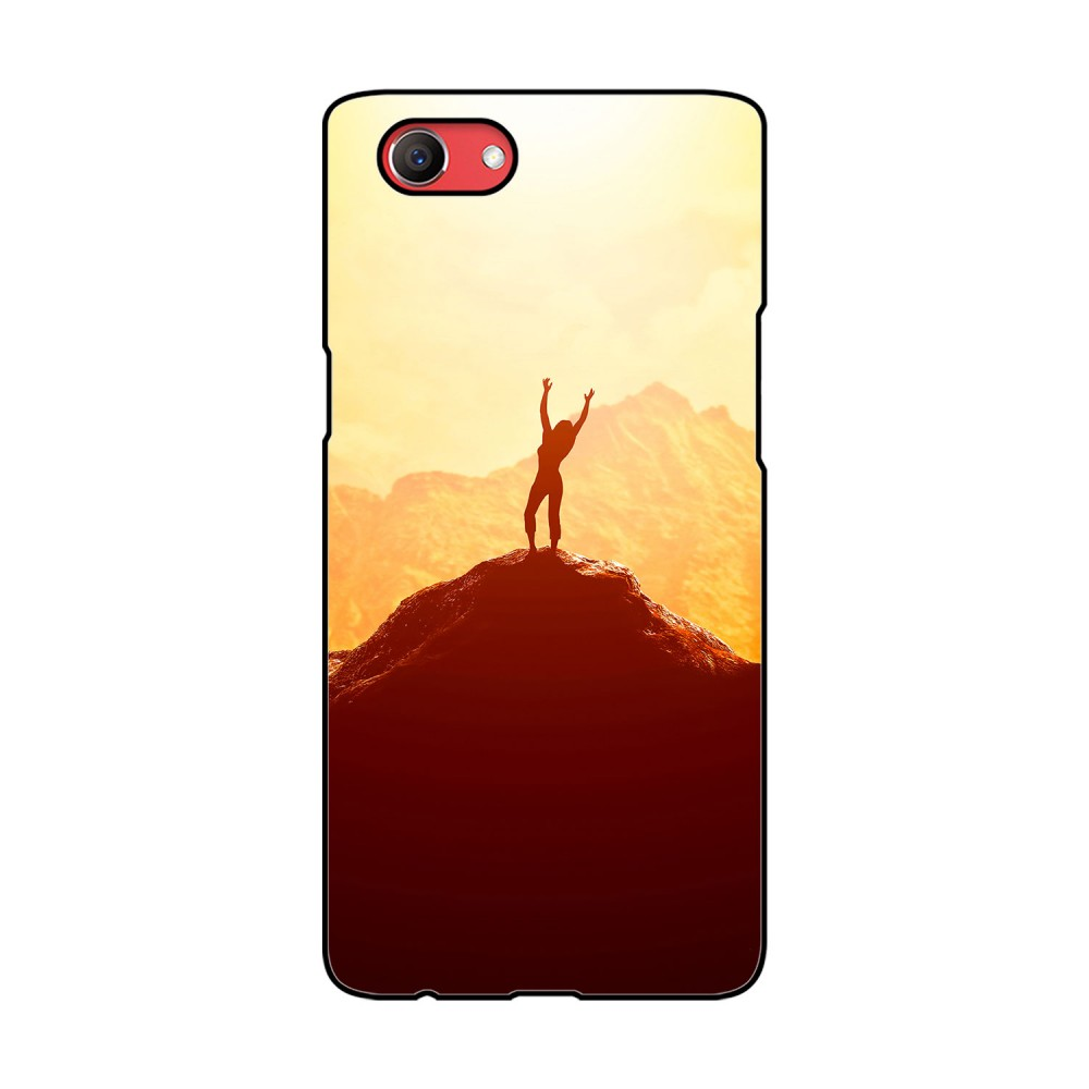 Woman On Hill Printed Oppo Mobile Case