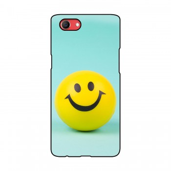Smiley Printed Oppo Mobile Case