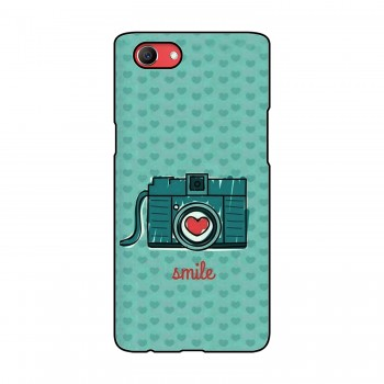 Camera Smile Printed Oppo Mobile Case