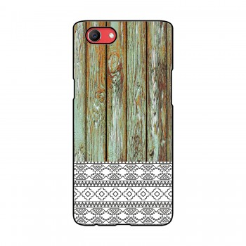 Wooden Pattern Printed Oppo Mobile Case