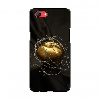Golden Apple Printed Oppo Mobile Case