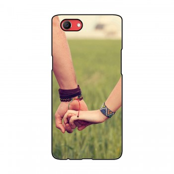 Hand In Hand Printed Oppo Mobile Case
