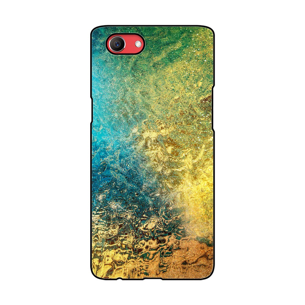Color Water Printed Oppo Mobile Case