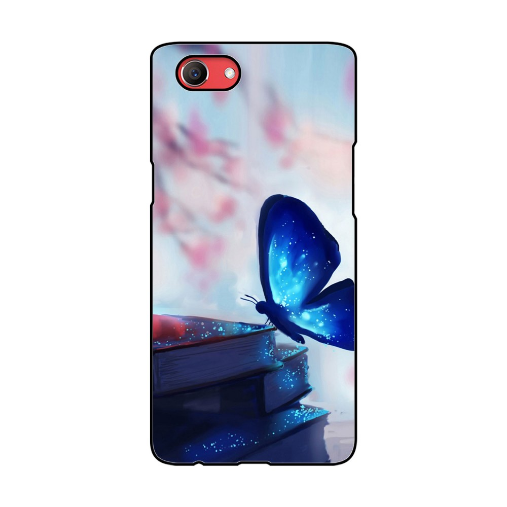 Magic Blue Butterfly Printed Oppo Mobile Case