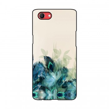 Peacock Feathers Printed Oppo Mobile Case
