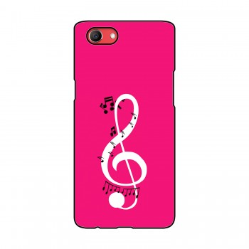 Music Printed Oppo Mobile Case