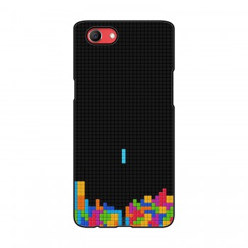 Tetris Game Printed Oppo Mobile Case
