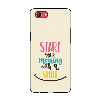 Morning Smile Printed Oppo Mobile Case