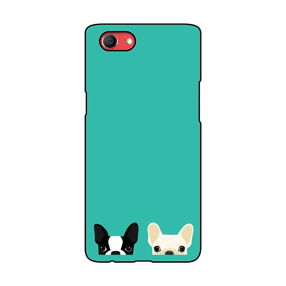 Two Dogs Printed Oppo Mobile Case