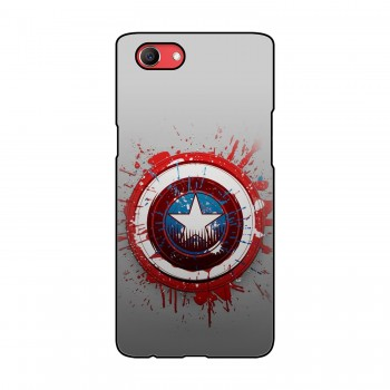 Captain America Printed Oppo Mobile Case