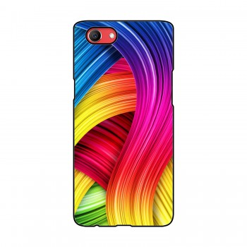 Color Pattern Printed Oppo Mobile Case