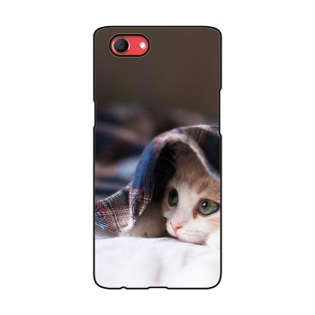 Cat Printed Oppo Mobile Case