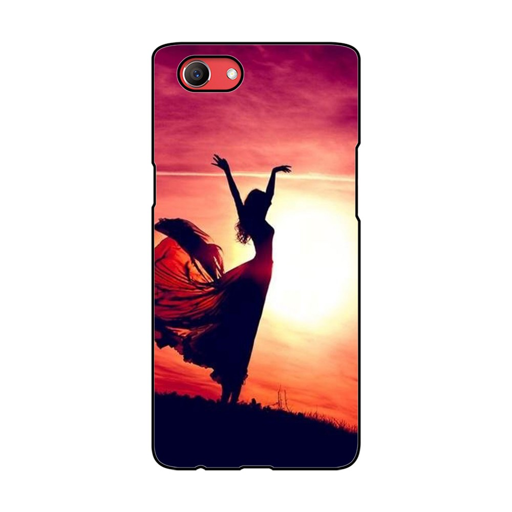 Woman Printed Oppo Mobile Case