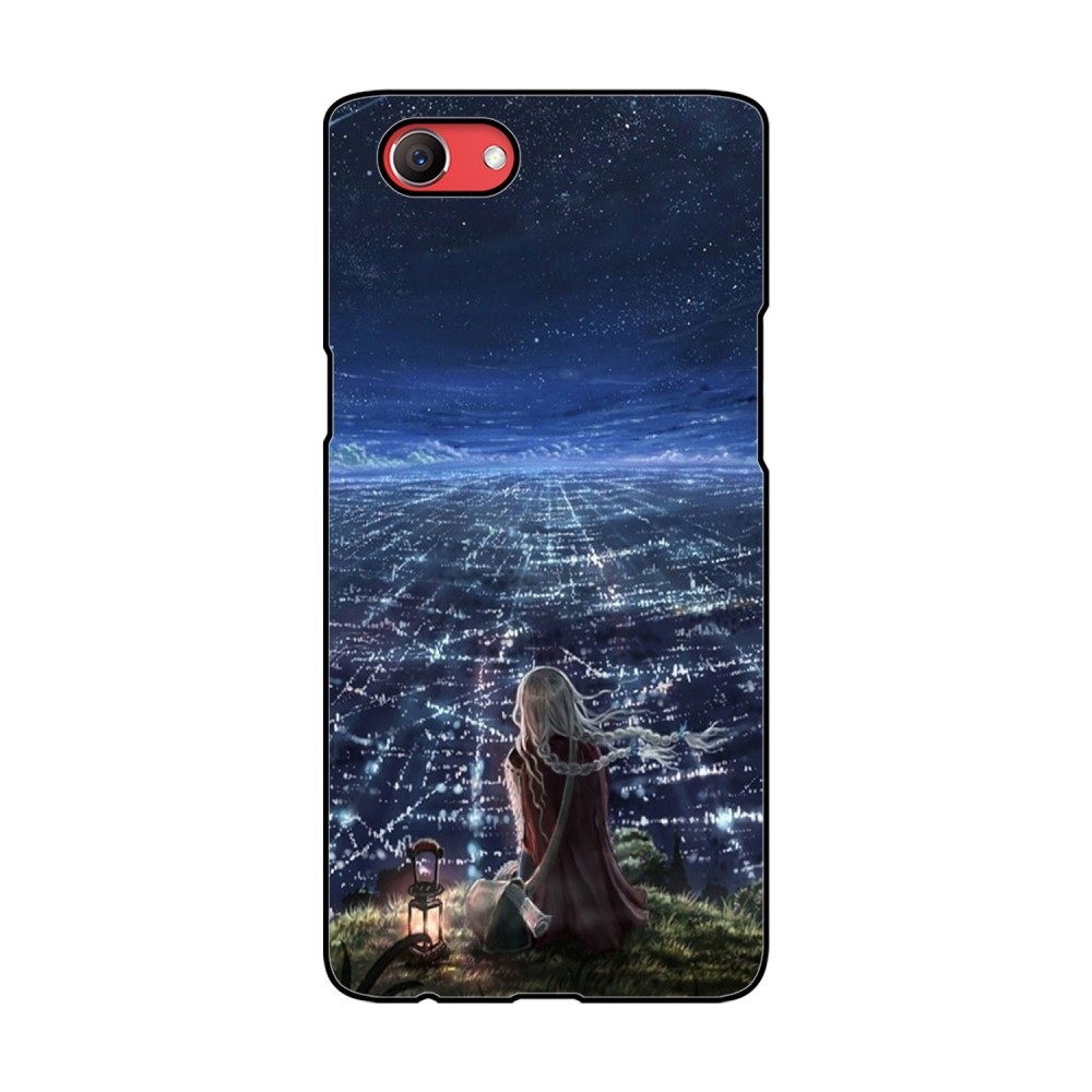 City Night Printed Oppo Mobile Case