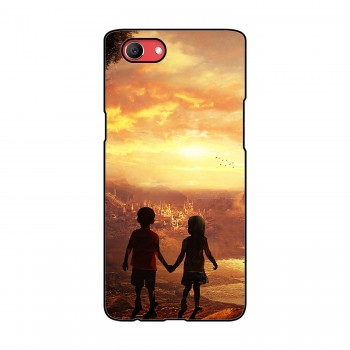 Kids Couple Printed Oppo Mobile Case
