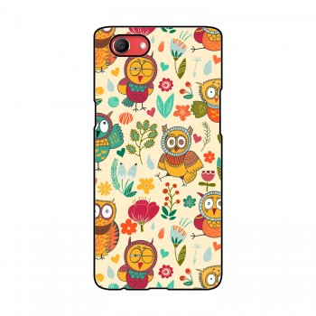 Owls Printed Oppo Mobile Case