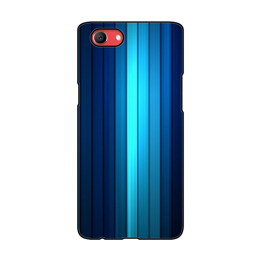 Blue Lines Printed Oppo Mobile Case
