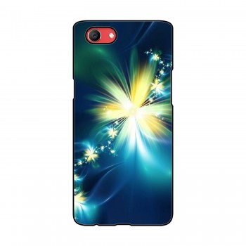 Glowing Flowers Printed Oppo Mobile Case