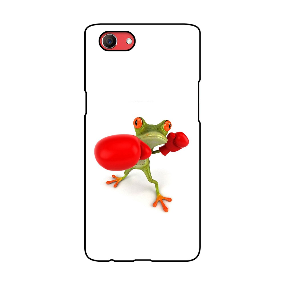 Boxer Frog Printed Oppo Mobile Case