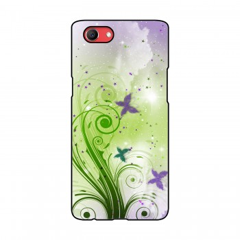 Butterflies Printed Oppo Mobile Case