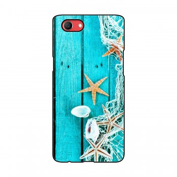 Sea Shells Printed Oppo Mobile Case