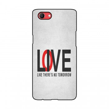 Love / Live Text Printed Oppo Mobile Case