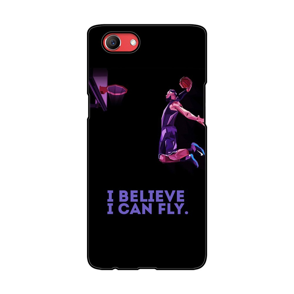 Believe Text Printed Oppo Mobile Case