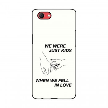 Kids Quote Printed Oppo Mobile Case
