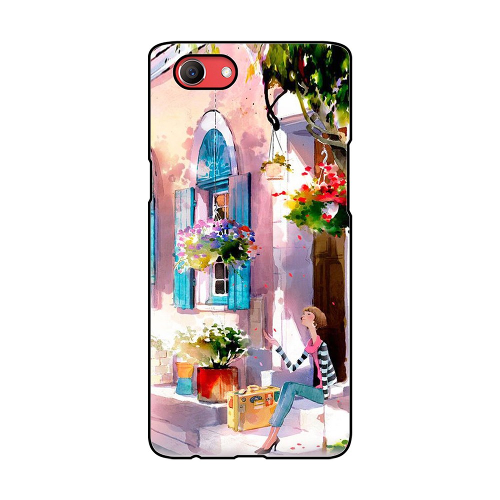 Watercolor Painting Printed Oppo Mobile Case