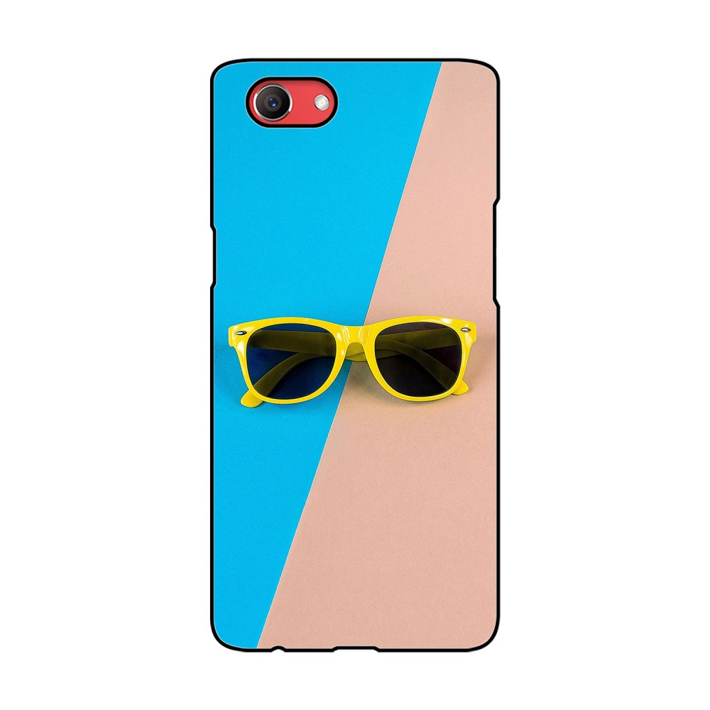 Yellow Spectacles Printed Oppo Mobile Case