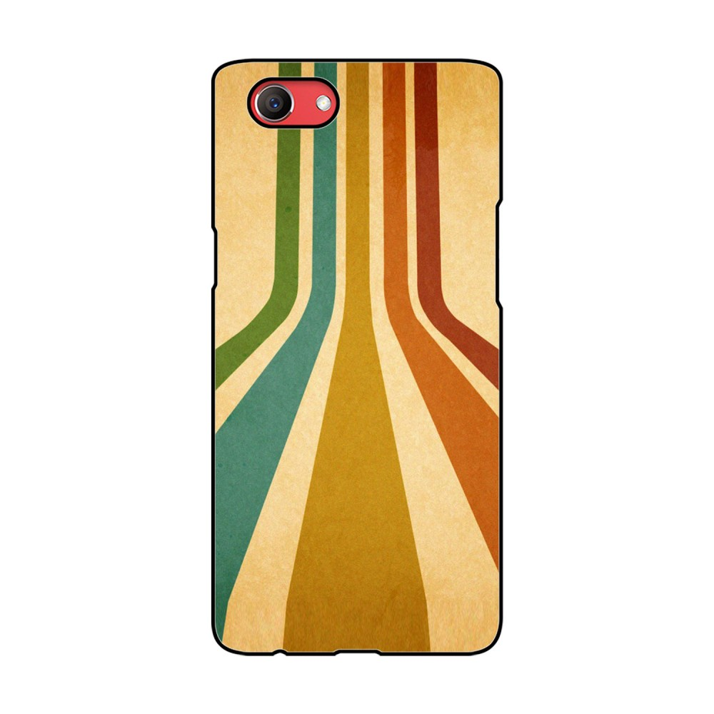 Colorful Path Printed Oppo Mobile Case