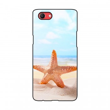 Star Fish Printed Oppo Mobile Case