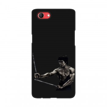 Bruce Lee Printed Oppo Mobile Case