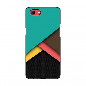 Multi Colored Pattern Printed Oppo Mobile Case