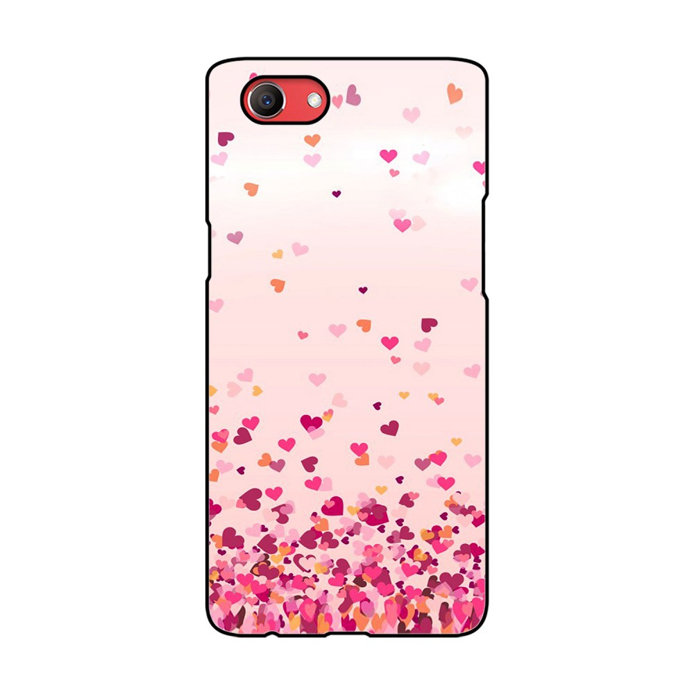 Flying Hearts Printed Oppo Mobile Case