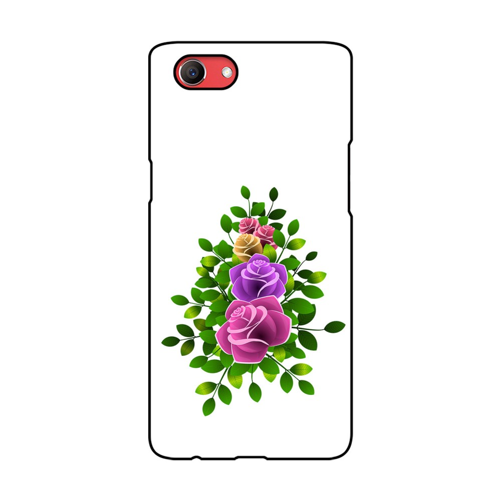 Flower With Leaves Printed Oppo Mobile Case