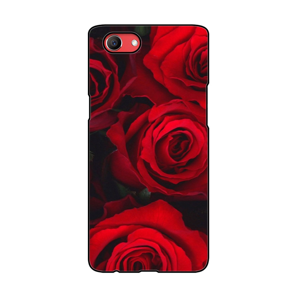 Red Roses Printed Oppo Mobile Case