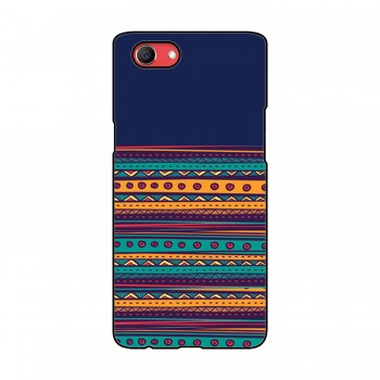 Horizontal Lines Colorful Pattern Oppo Mobile Case