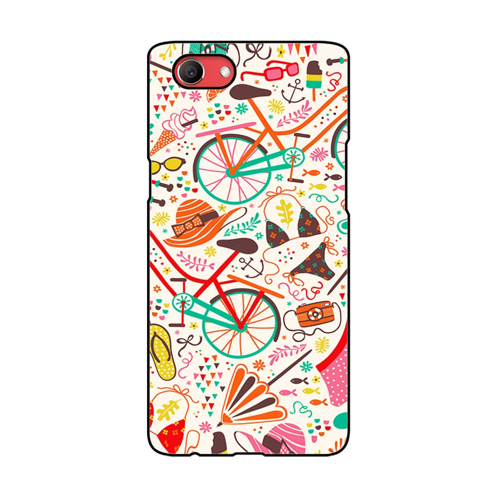Doodles Pattern Printed Oppo Mobile Case