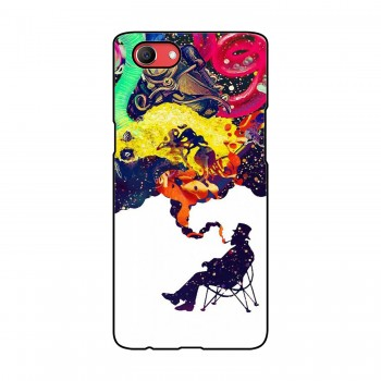Smoker Printed Oppo Mobile Case